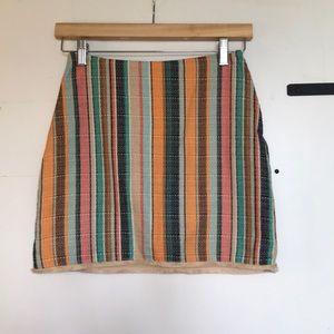 7d3d2ec6d16c6a H&M Fringe Skirt on Poshmark